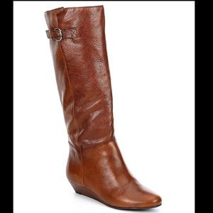 Steven by Steven Madden Intyce Brown Boots Size 8M